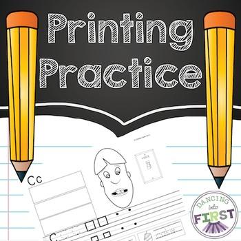 Handwriting Letter Practice Primary Penmanship