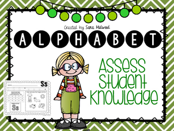 Alphabet Assess Student Knowledge