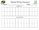 Alphabet Assessment Freebie