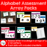 Alphabet Assessment Packs