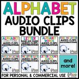 Alphabet Audio Clips for Digital Resources