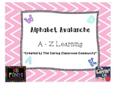 Alphabet Avalanche Fast Finisher Task Cards