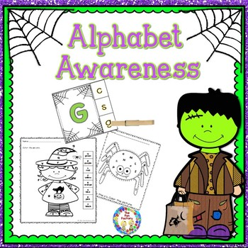 Halloween Alphabet Awareness