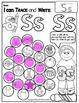 Alphabet BEGINNING SOUNDS Worksheets-Color or Dab to find