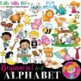 ALPHABET - BIG BUNDLE Beginners. BLACK AND WHITE & Color. {Lilly Silly Billy}