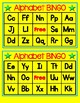 Alphabet BINGO Game for Kindergarten