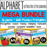 Alphabet MEGA BUNDLE Letter of the Week Phonics 1600 pages