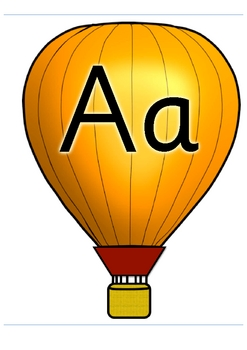 Alphabet Balloons Classroom Display