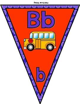 Alphabet Banner - Beginning Sounds Display
