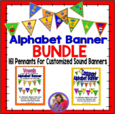 Alphabet Banner - Bundle - Pennants for all 44 sounds in t