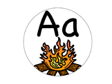 Alphabet Banner (Camping Themed)