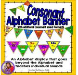 Alphabet Banner - Consonant and Digraphs