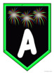 Alphabet Banner | Fireworks