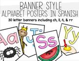 Alphabet Banner Poster in Spanish