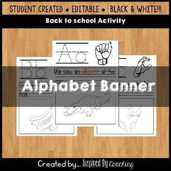 Alphabet Banner: Student Created