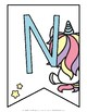 Alphabet Banner {Unicorn Theme}