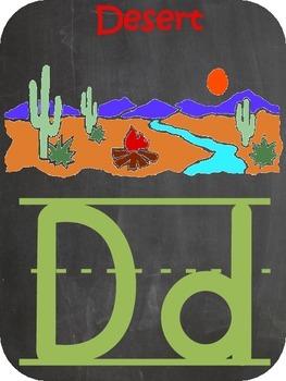 Alphabet Banner- Western Themed