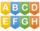 Alphabet Banner for Classroom VIPKid Online