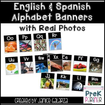 Alphabet Banners Bundle {{English and Spanish}}
