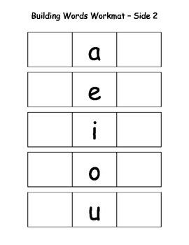 Alphabet & Basic Word Practice