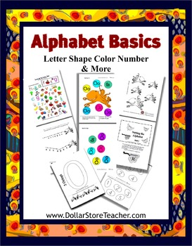Alphabet Basics Letter O - Preschool Curriculum - Classroom Support