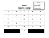 Alphabet Battleship