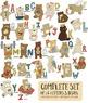 Alphabet Bear Clip Art, Teddy Bear ClipArt, Cute Primary I