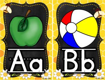 Alphabet (Bee Theme)