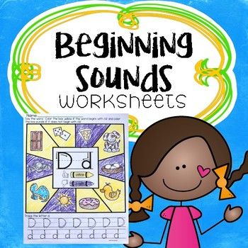 Alphabet Beginning Sounds Worksheets