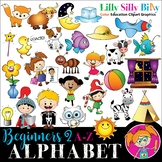 Alphabet - Beginners 2. A - Z pictures with short words {L