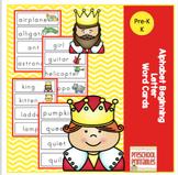 Alphabet Beginning Letter Word Cards