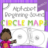 Alphabet Beginning Sound Circle Maps