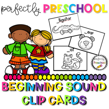 Alphabet Beginning Sound Clip Cards