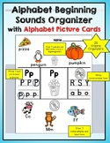 Alphabet Sounds with Graphic Organizers, Anchor Charts, Pr