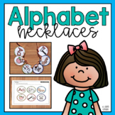 Alphabet Beginning Sound Necklace Activity