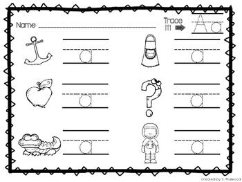 Alphabet Beginning Sound Practice