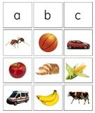 Alphabet Beginning Sound Sorting Cards