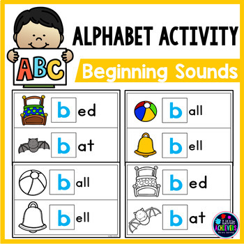 Beginning Sound Write and Wipe Cards
