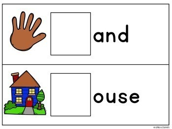 Beginning Sound Activities - Alphabet activities for Pre-K Write and Wipe Cards
