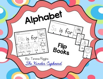 Alphabet Beginning Sounds Books - {1 Page Each}