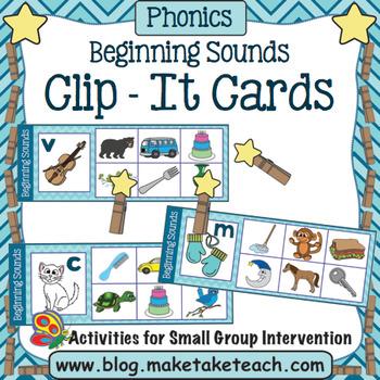 Alphabet - Beginning Sounds Clip It