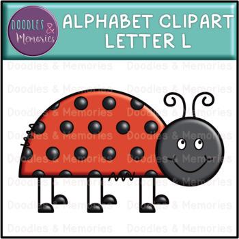 Alphabet Beginning Sounds Clipart Letter L