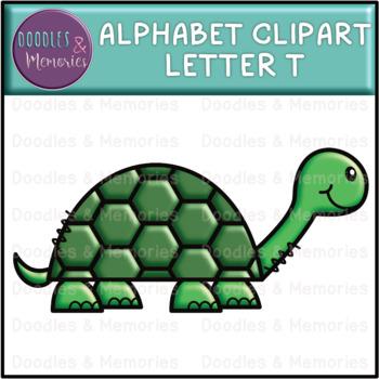 Alphabet Beginning Sounds Clipart Letter T