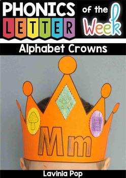 Alphabet Crowns