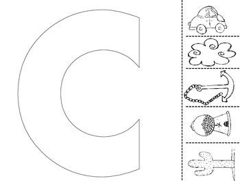 Alphabet Beginning Sounds Cut & Paste