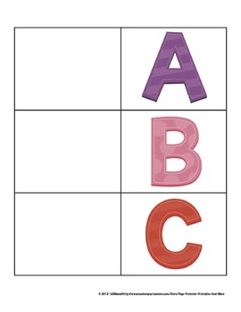 Alphabet and Beginning Sounds Flashcards
