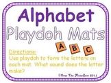 Alphabet & Beginning Sounds Playdoh Mats