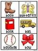 Alphabet Cards Beginning Sounds Pocket Chart Centers and Materials