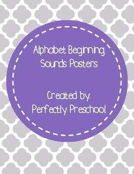 Alphabet Beginning Sounds Posters