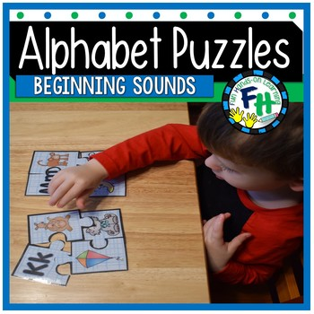 Alphabet Beginning Sounds Puzzles